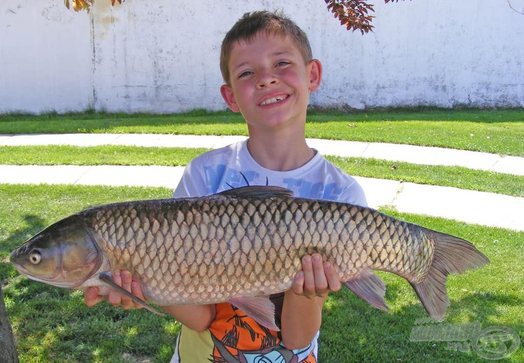 A legnagyobb halam 4,5 kg