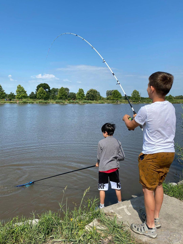 Ebben a táborban minden horgászpalánta jól érezheti magát és gyarapíthatja a horgásztudását…