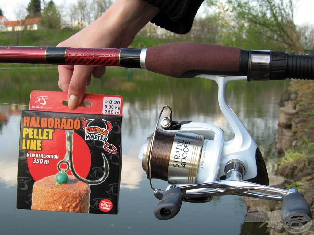 A Haldorádó Feeder Master Pellet Line matchbotos horgászat során is megállja helyét