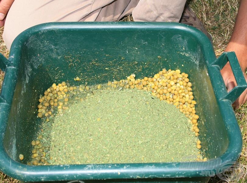 """Kukorica, borsó, és a """"zöld por"""""""
