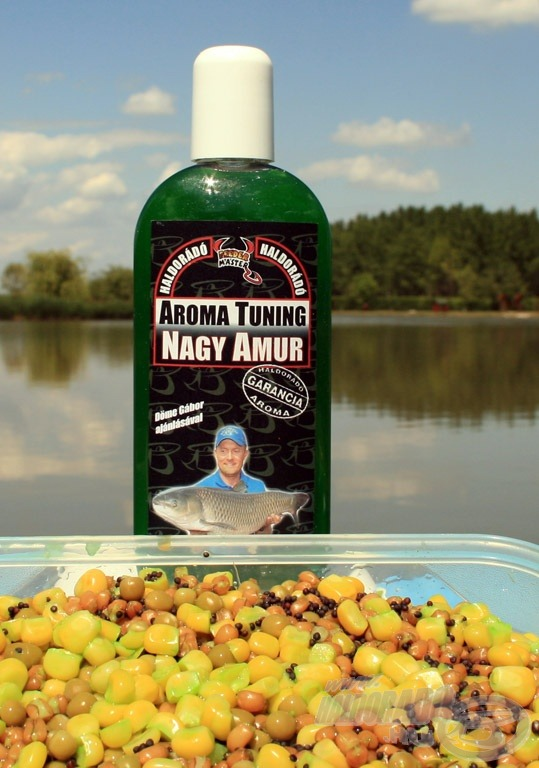 Amur horgászatra kifejlesztett termékcsalád a Haldorádó Nagy Amur