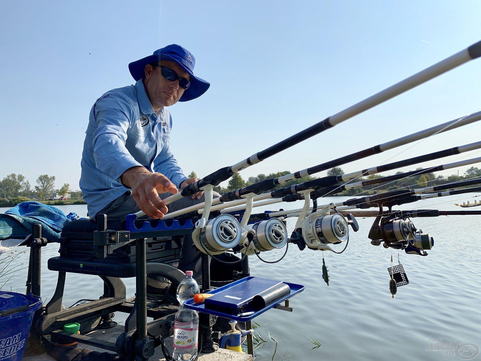 """Az Ezüst-tó egy """"fifikás tó"""", ahol bárhol lehet jó eredményt elérni, de ehhez minden trükköt be kell vetni"""