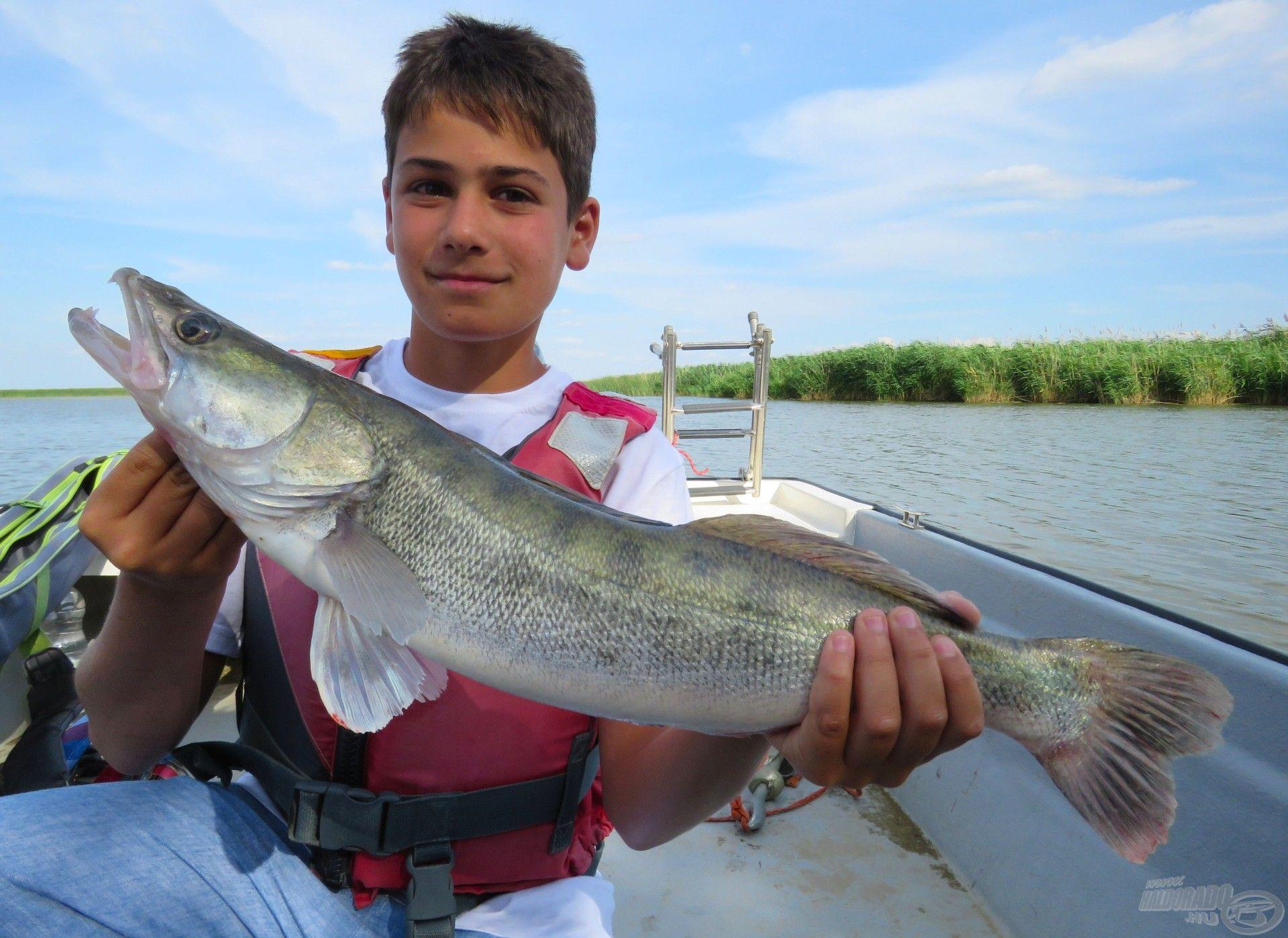 Bence hala lett a legnagyobb hal az idei pergető táborokban
