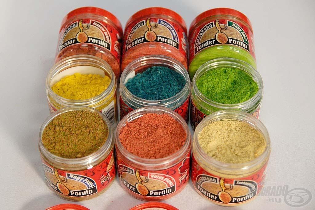 Mindegyik változat színes, nagyon ízes és aromás