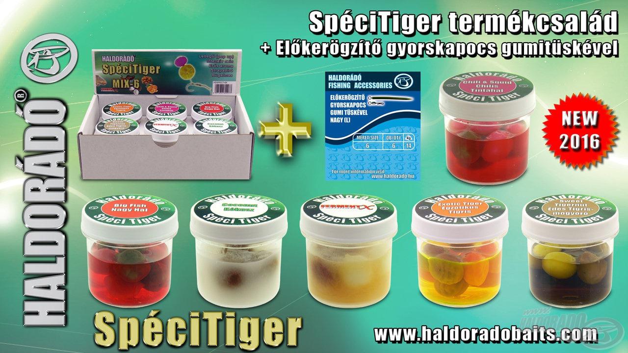 A SpéciTiger is kapható lesz 6-os, minden ízt tartalmazó gyűjtődobozban