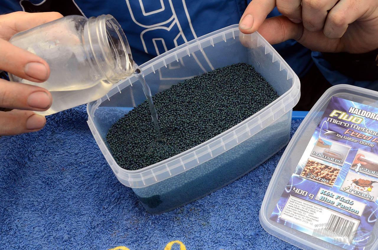 … aminek elkészítése csupán 1-1,5 dl vizet igényel!