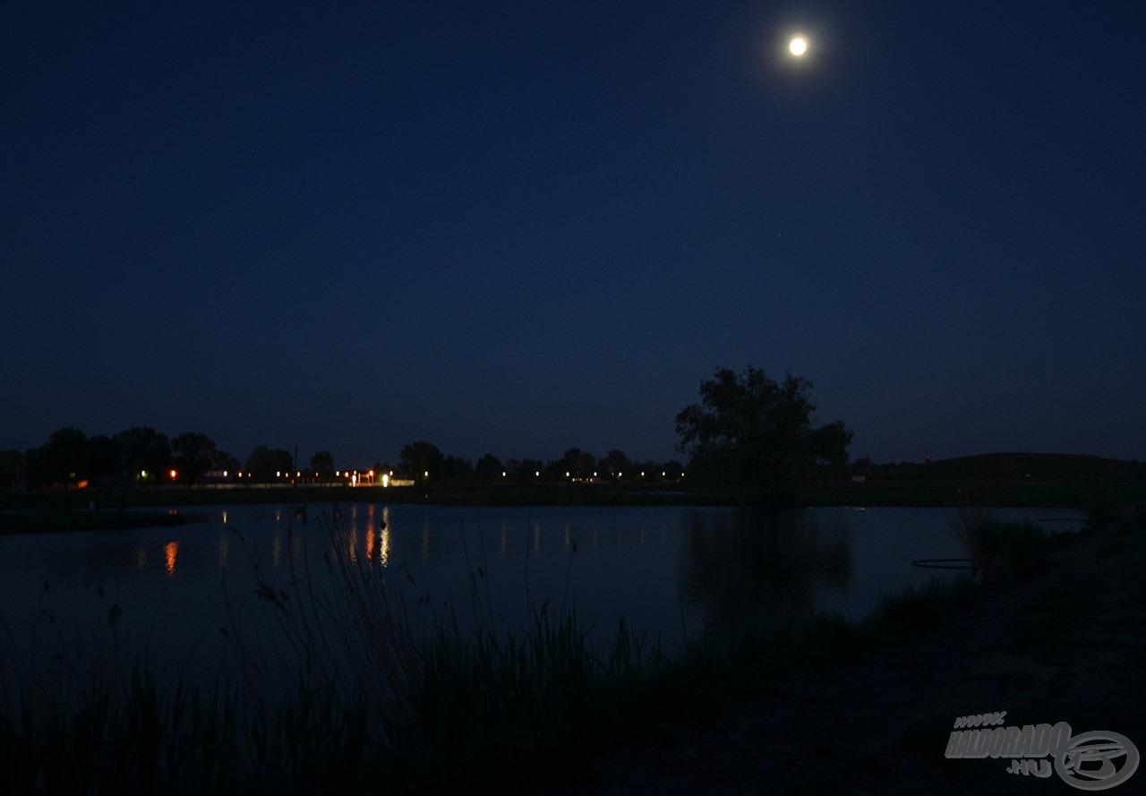 Kíváncsian vártuk, mit tartogat a holdfényes éjszaka