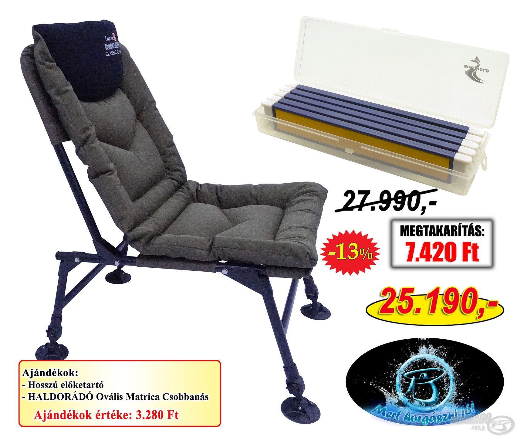 A Prologic fotel kényelmes ülőhelyet biztosít minden helyzetben