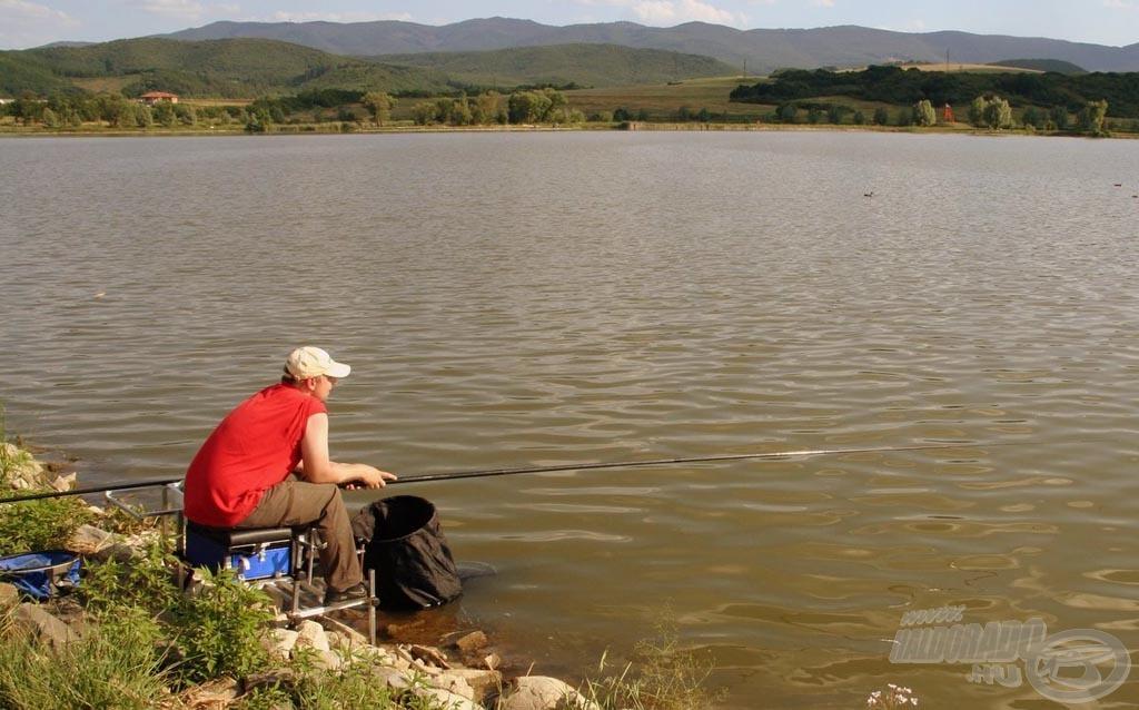Gabi barátunk idő előtti horgászatával kizárásra került