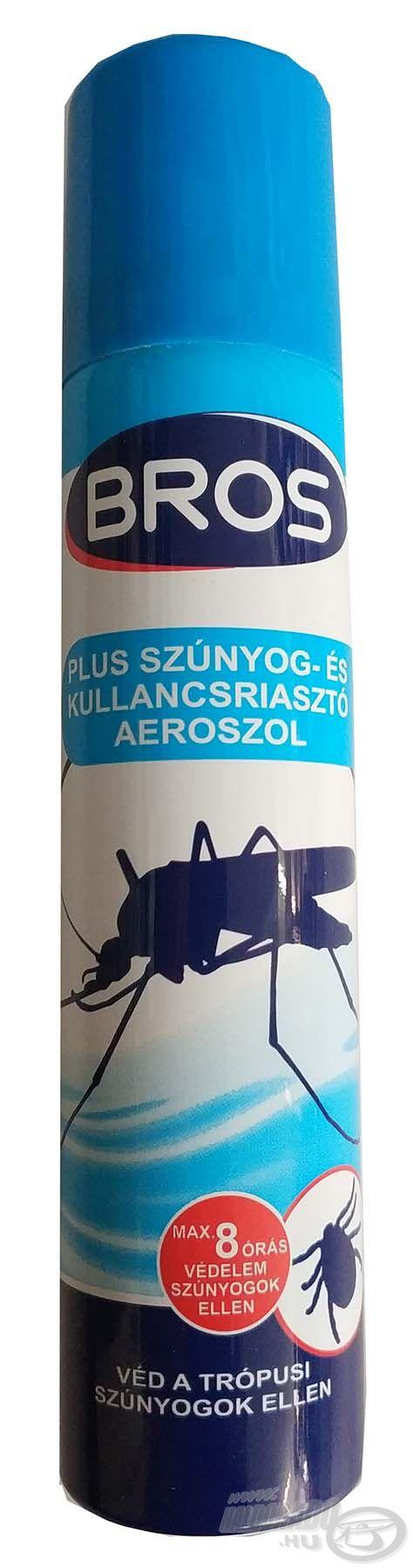 Szúnyogok és kullancsok ellen is kiválóan véd