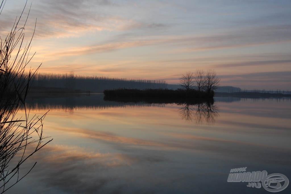 A tó halállománya, természeti szépsége lenyűgöző