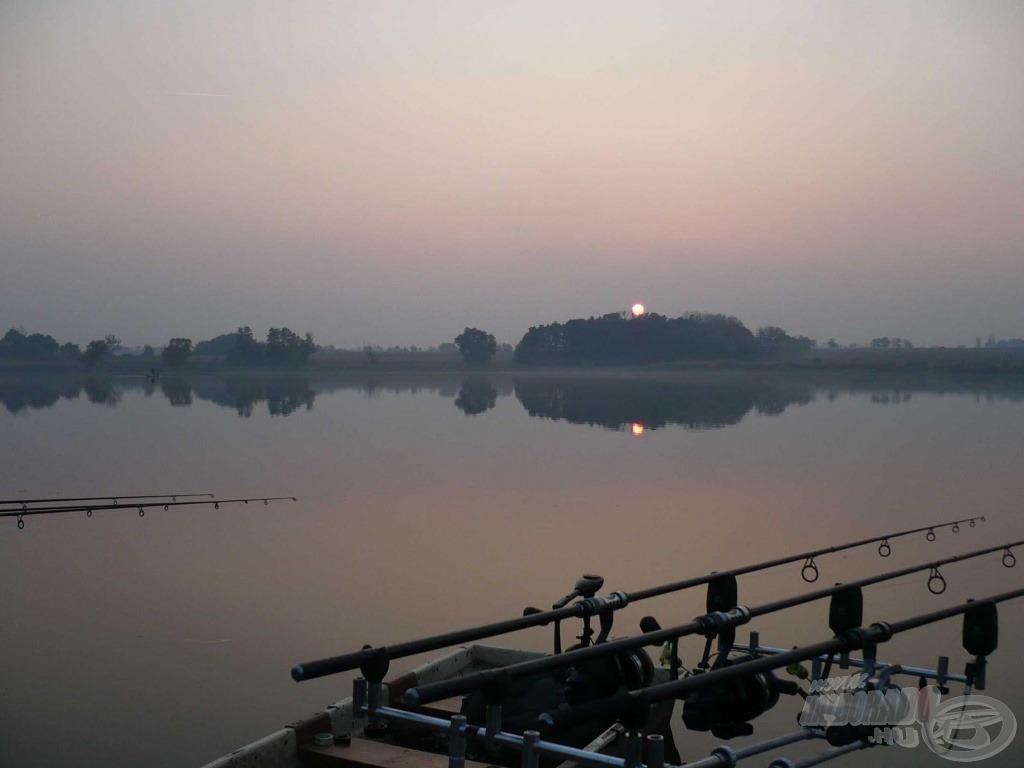 Őszi naplemente Baranya megye gyöngyszemén