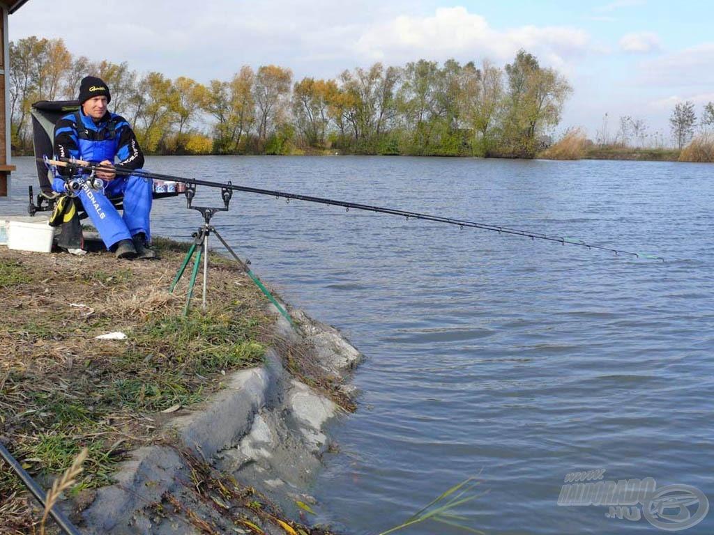A Bojlis tó kulturáltan kialakított horgászhelyei minden módszerhez kiválóak