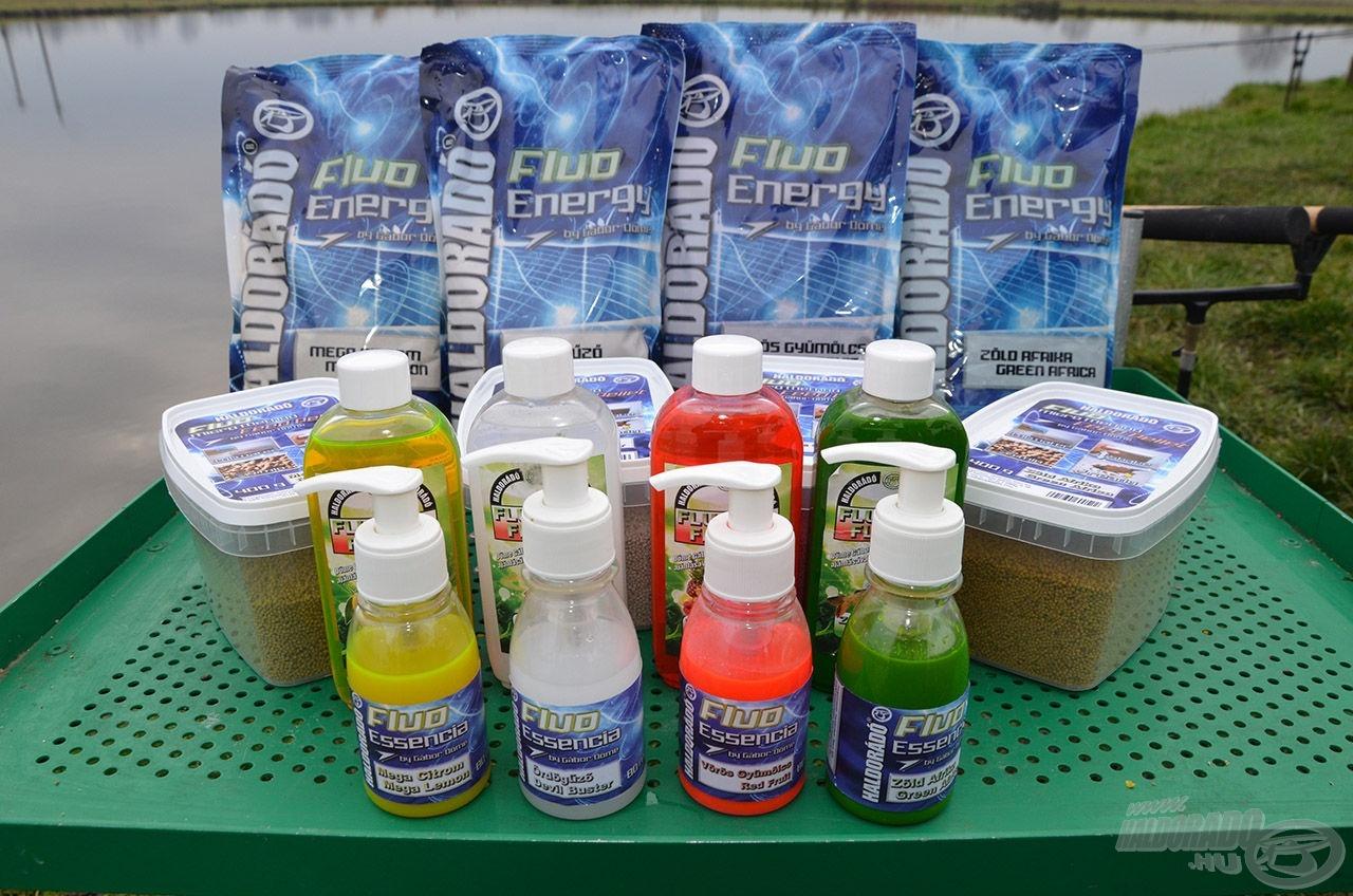 Fluo Flavor aromák mellett most már elérhető a Fluo Essencia, Micro Method Feed Pellet és etetőanyag is
