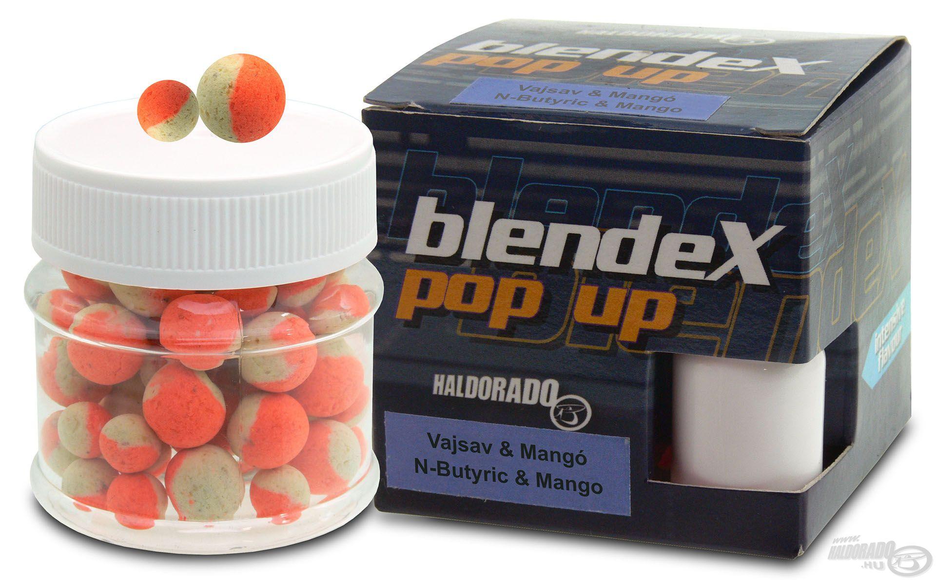 Az új BlendeX íz a Vajsav & Mangó