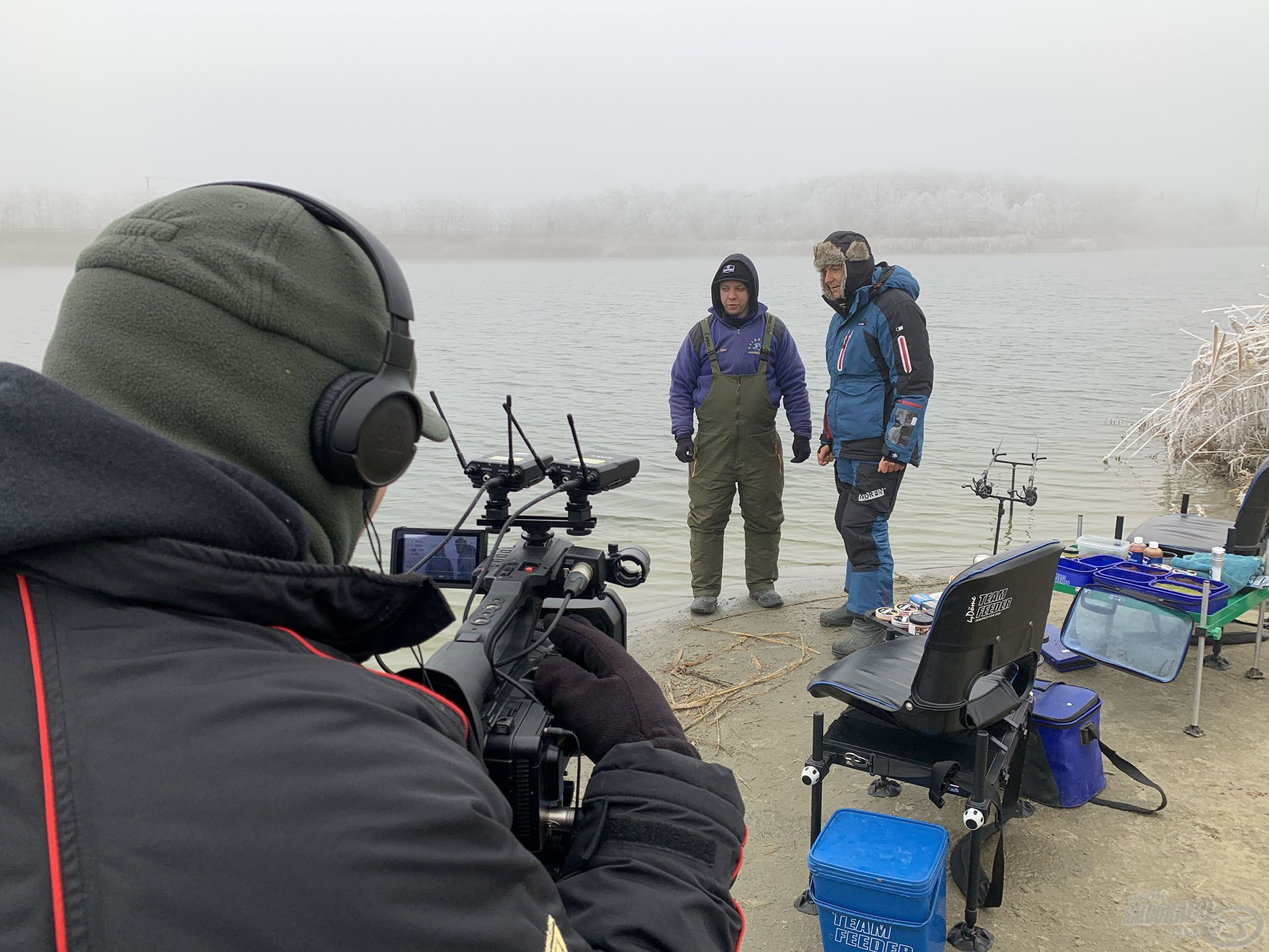 Bugyinszki Gáborral közösen kezdtünk a horgászathoz, amelynek legérdekesebb pillanatait egy tartalmas filmben örökítettük meg