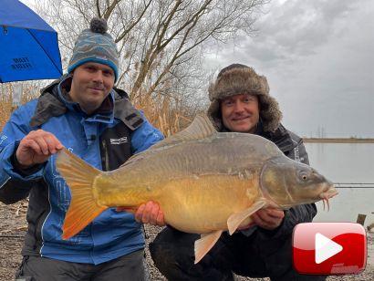 Hideg vízi pontyhorgászat feederrel 25. rész – Nagy pontyok a hidegfront előtt