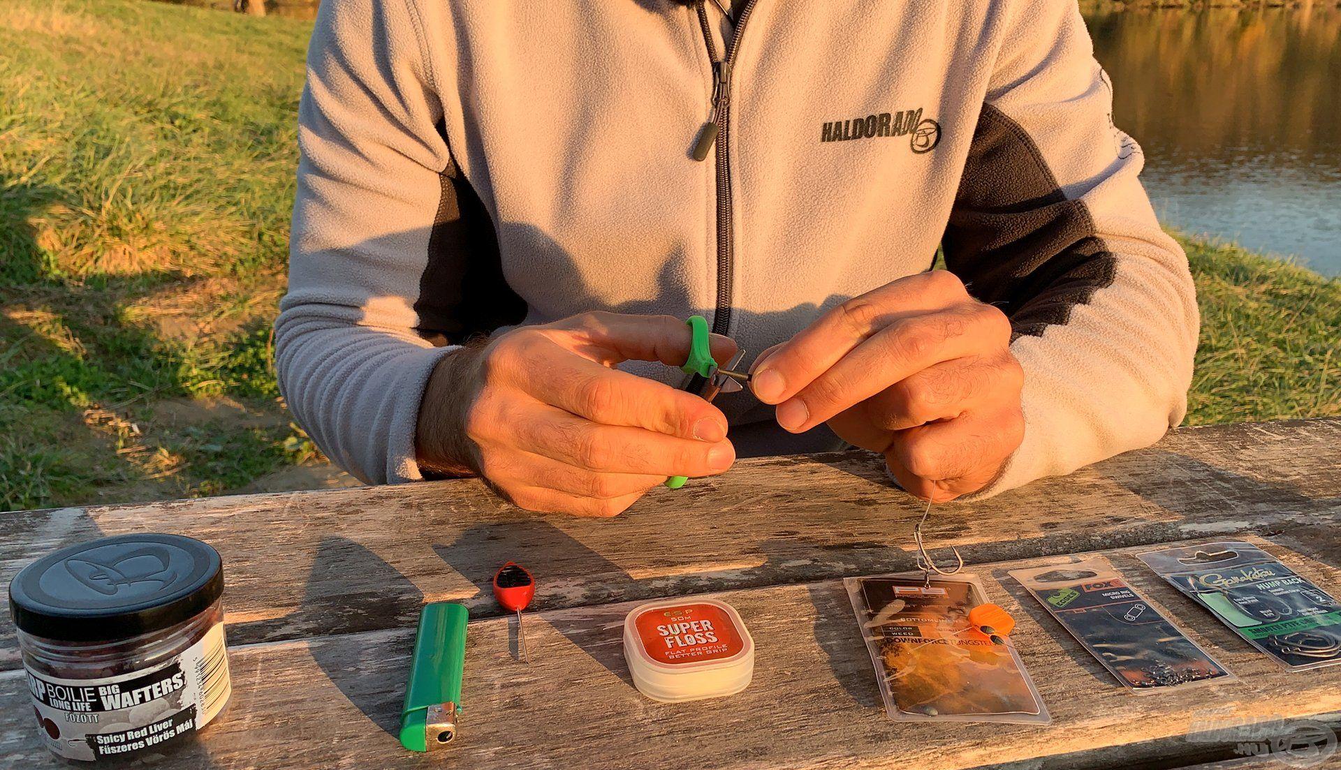 Célszerűbb a gubancgátló gumiharangot visszább vágni…