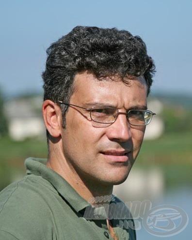 Szabó Csaba a Rapala Eurohold Team tagja