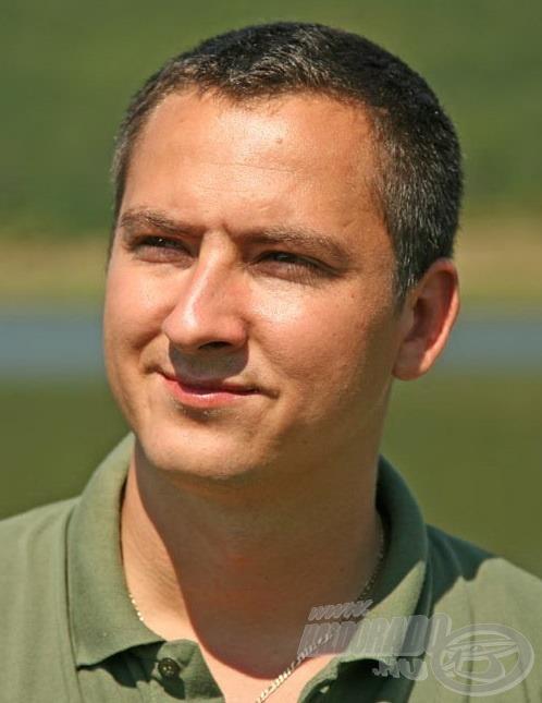 Fördős Attila a Rapala Eurohold Team tagja