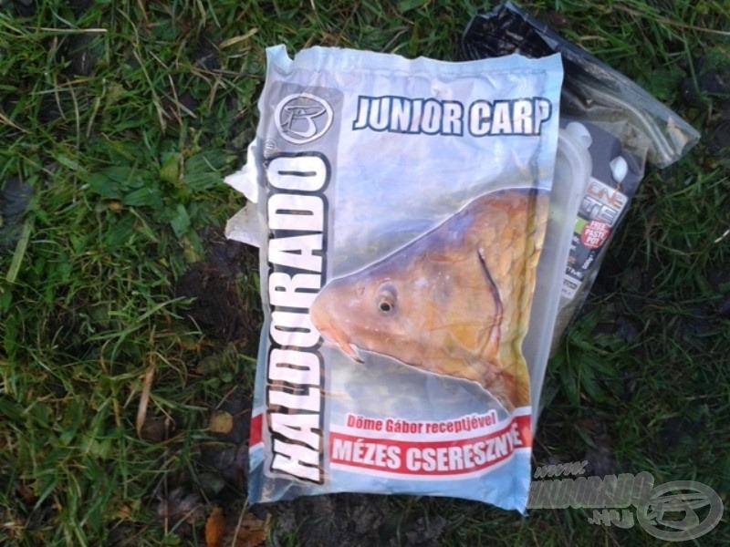 Teszt alatt a Junior Carp