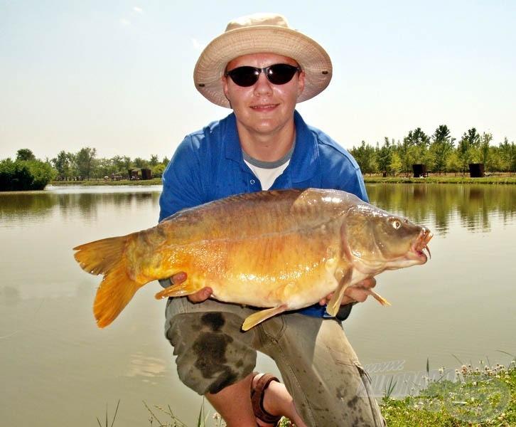 Csak sikerült végre jó halat fognom, igaz, ehhez kitartónak kellett lennem…