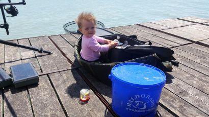 Horgászik a család 2. rész - Irány a Magyar tenger!