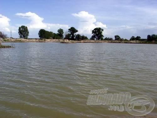 A fiatal tó hamar népszerűvé vált