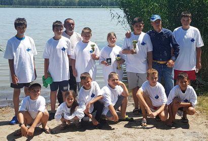 I. Gyermek és ifjúsági horgásztábor a Vadkerti-tavon
