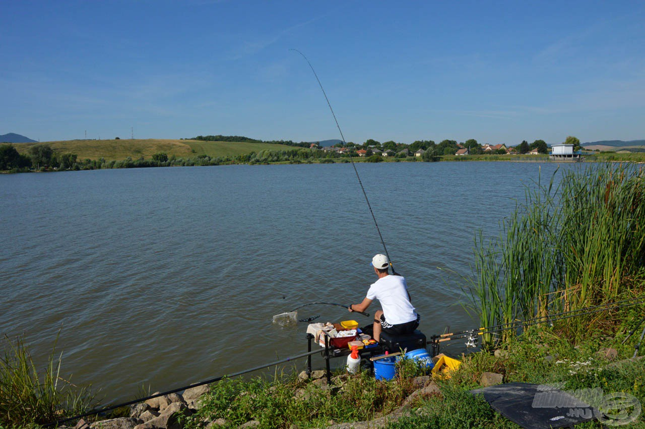 Tenke Tomi mesterien horgászott