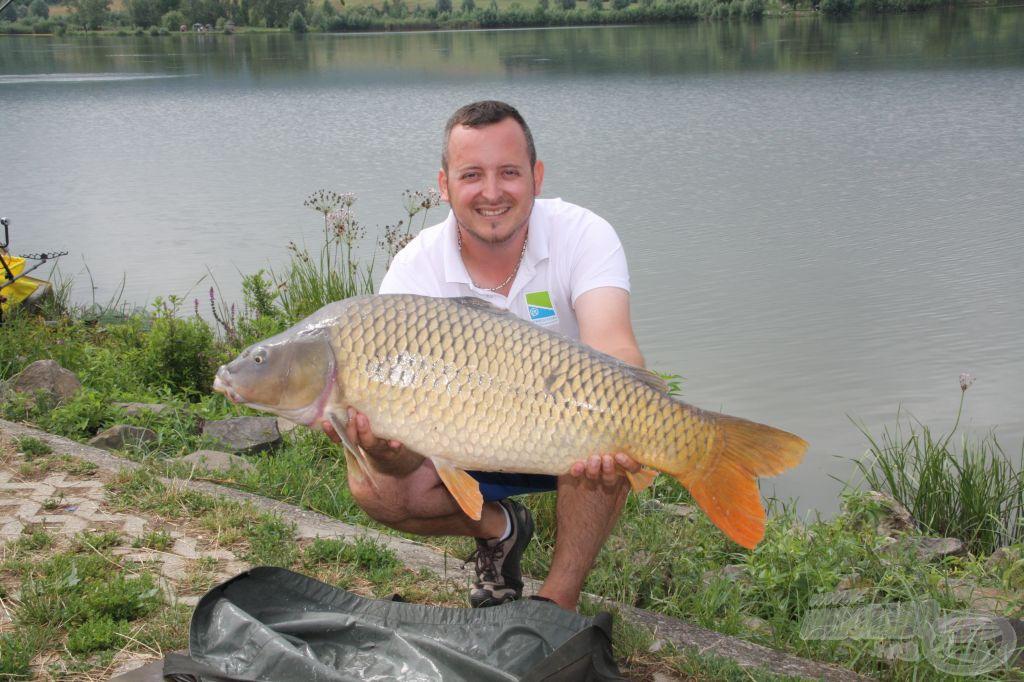 Papp Zoltán 13 kg feletti hala