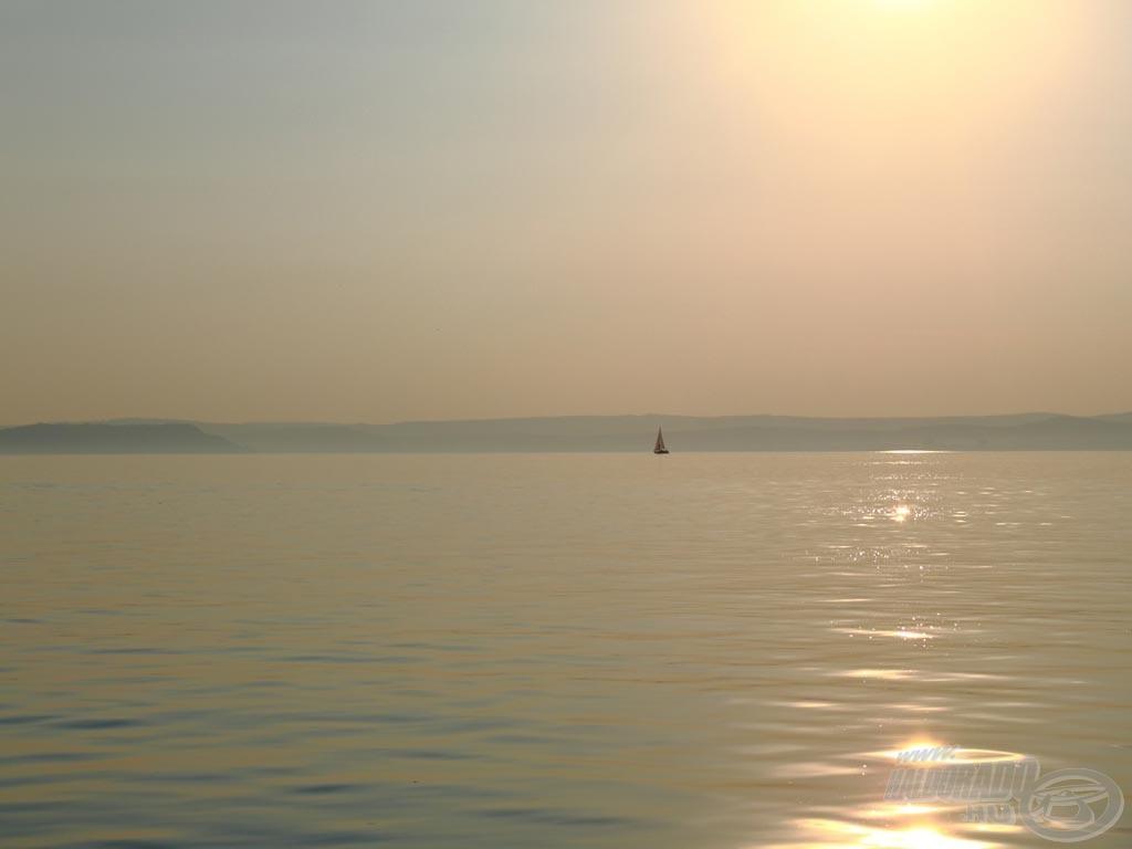 A verseny helyszíne az ezerarcú Balaton