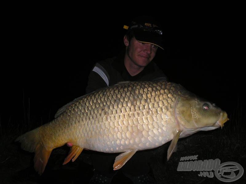 Az első éjszaka komolyabb hala 9,26 kg-mal