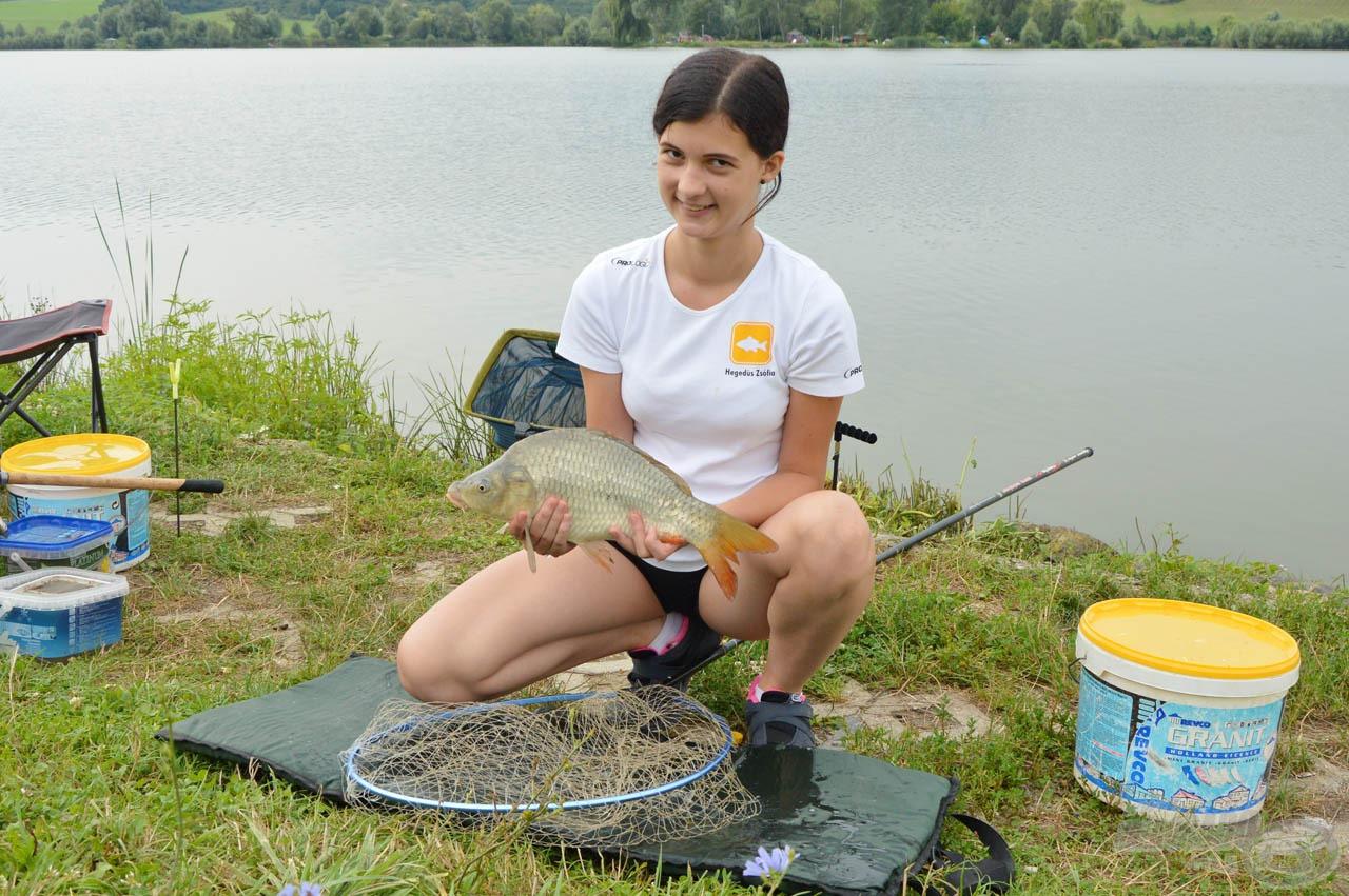Legeredményesebb női versenyző: Hegedűs Zsófia 1.775 gramm