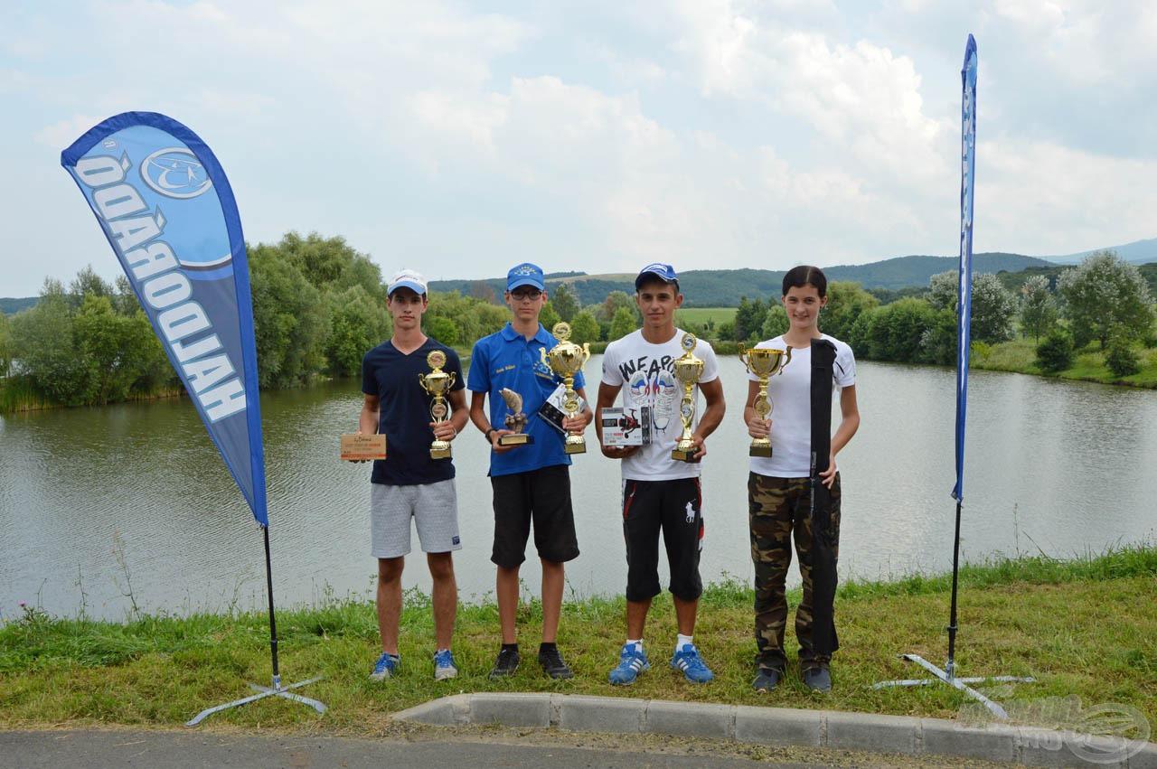 A II. Haldorádó Junior Kupa ifi korcsoport díjazottai