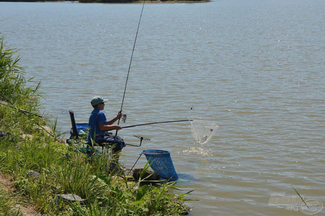 Egyértelmű célunk az, hogy a gyerekek körében népszerűsítsük a versenyszerű feederbotos horgászatot