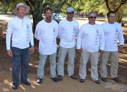 III. Feeder Világbajnokság Dél-Afrika, első versenynap