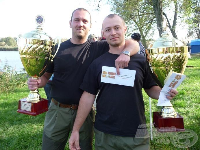 A tavalyi második helyezett: Fish Hunter Team