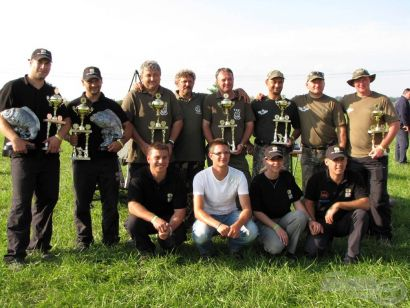 III.   SBS-V.I.P. Pontyfogó Kupa versenykiírás