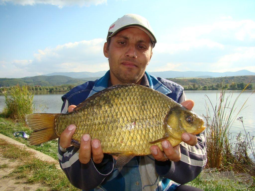 Íme, az új aranykárász-tórekord