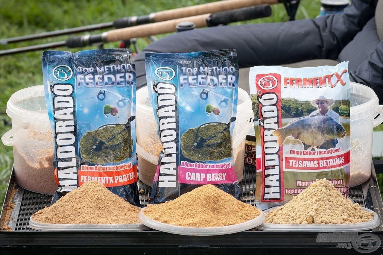 Az amurhorgászat során is bizonyított, fogós etetőanyagok