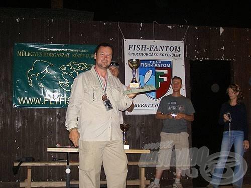 Díjátadás a II. Fish-fantom Kupán