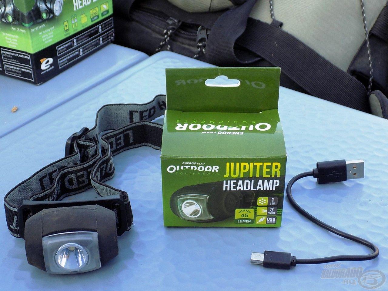 A Jupiterhez már USB töltő is jár, nem kell elemcserékkel vesződni