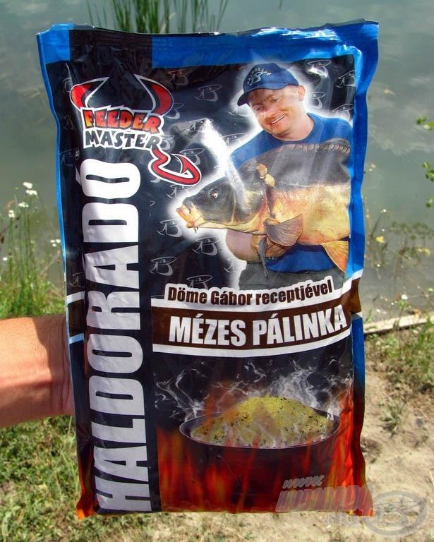 Az édes Haldorádó Mézes Pálinka etetőanyag, a horgászok és a halak nagy kedvence