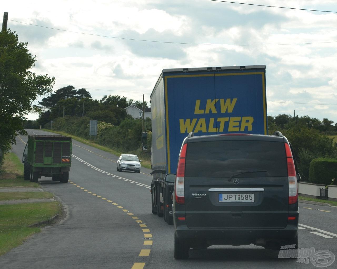 Nem is tudtuk, hogy a kapitányunk Walter Tomi kamion felvezetést is leszervezett :)