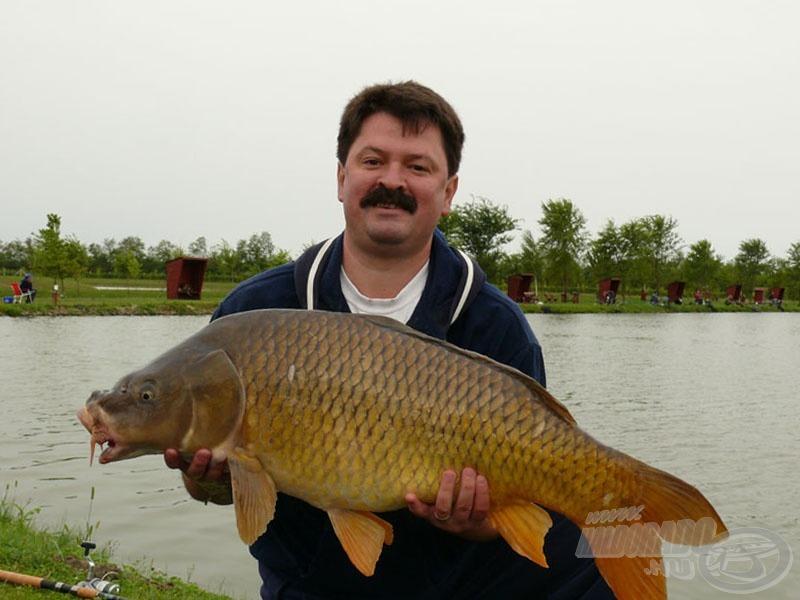 A verseny legnagyobb hala 12.460 grammot nyomott