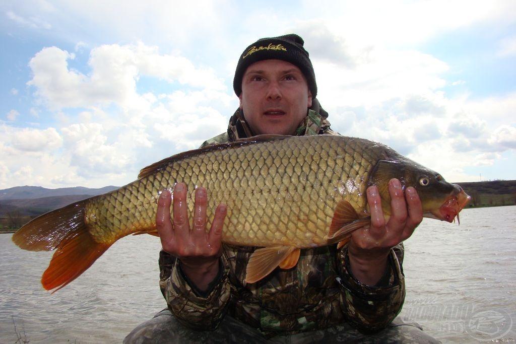 Ez a hal nyurgább, nagyobb...