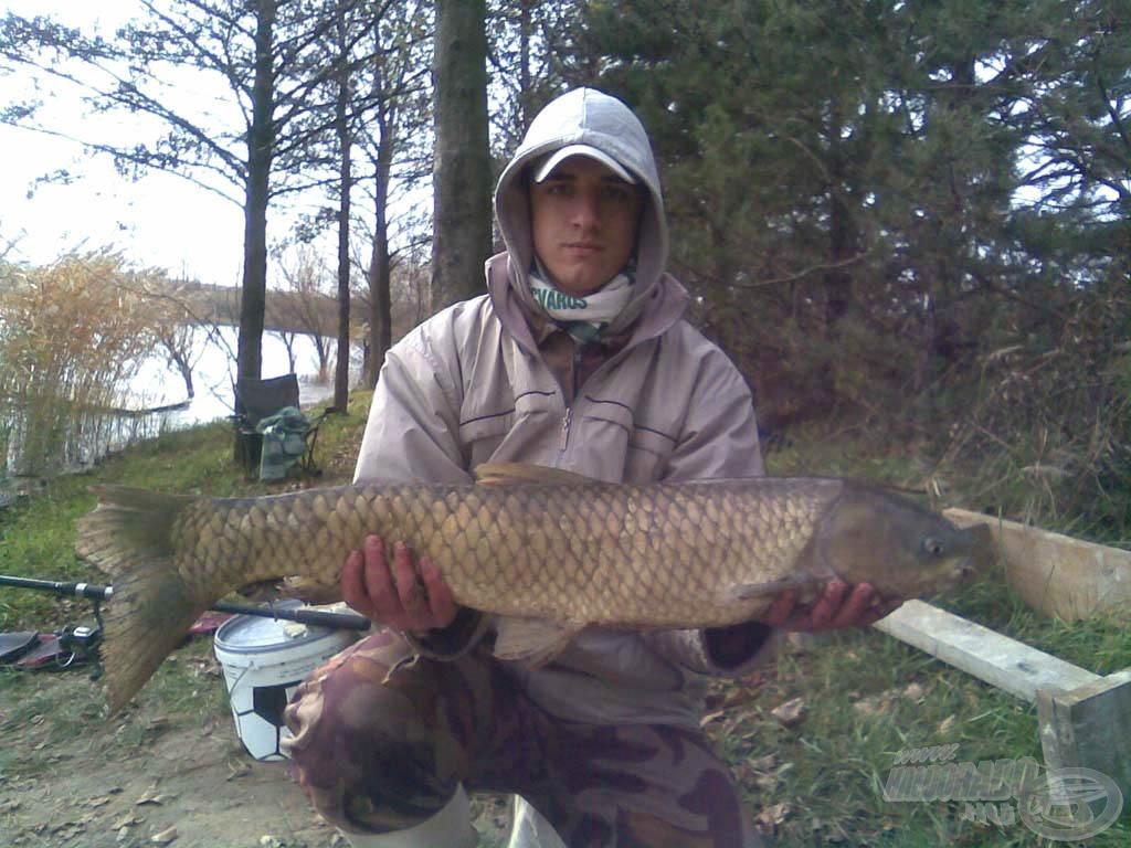 Még a novemberi horgászatok is…