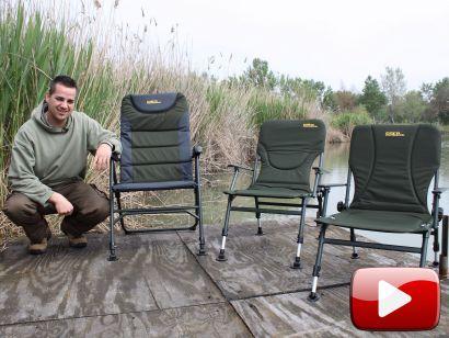 Kedvező árú fotelek a Carp Academy kínálatából