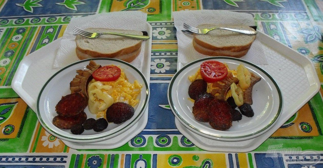 Családias bánásmódban részesültünk, ébredés után ismét egy ízletes reggelivel vártak minket